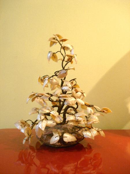 Mother-of-pearl tree, circa 1930