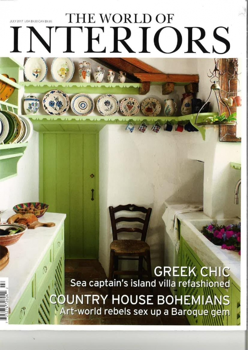 WORLD OF INTERIORS/July 2017